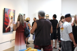 Opening Reception West of Lincoln Project night copy