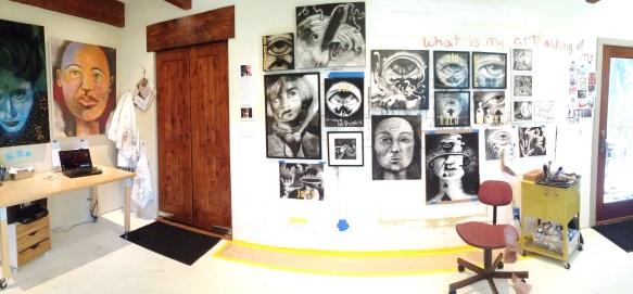 artists studio in sierra nevada foothills