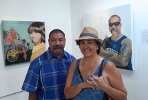 Leonard Duran and Gloria Olivas Omar