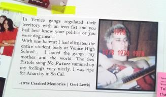 Crashed Memories Geri Lewis 1978