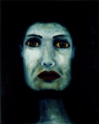 1991, 4 x 6', Oil on Canvas, Ocampo Collection