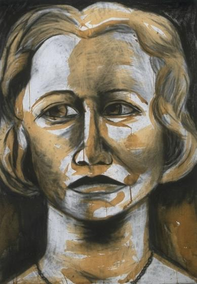 edna_charcoal_coffee_on_paper-by-ruth-chase