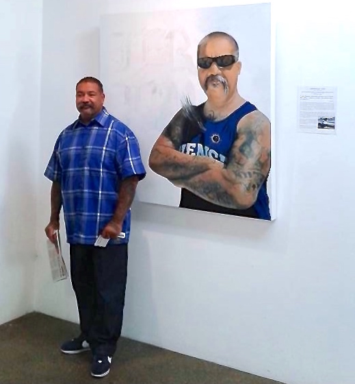 Leonard Duran at West of Lincoln Project Venice by Ruth Chase