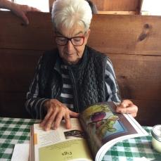Joanne Neft helping me plan BELONGING