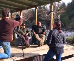 Filming in Washington 2018
