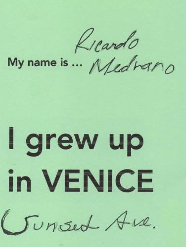 Today I am going to ... Venice Tribute Wall copy 12