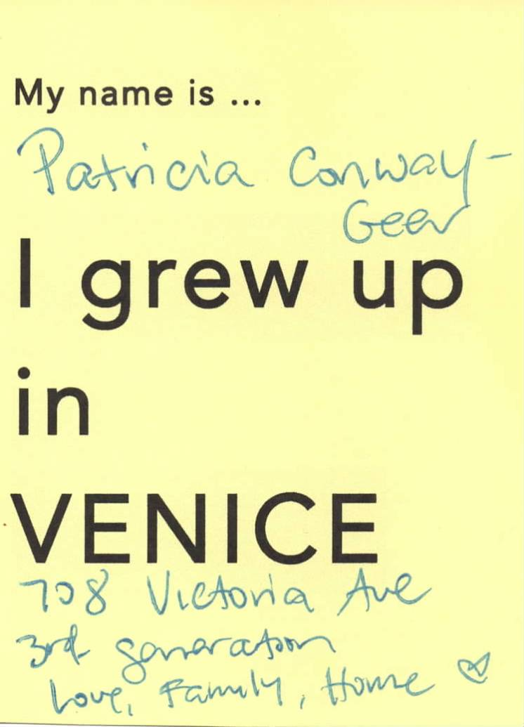 Today I am going to ... Venice Tribute Wall copy 9
