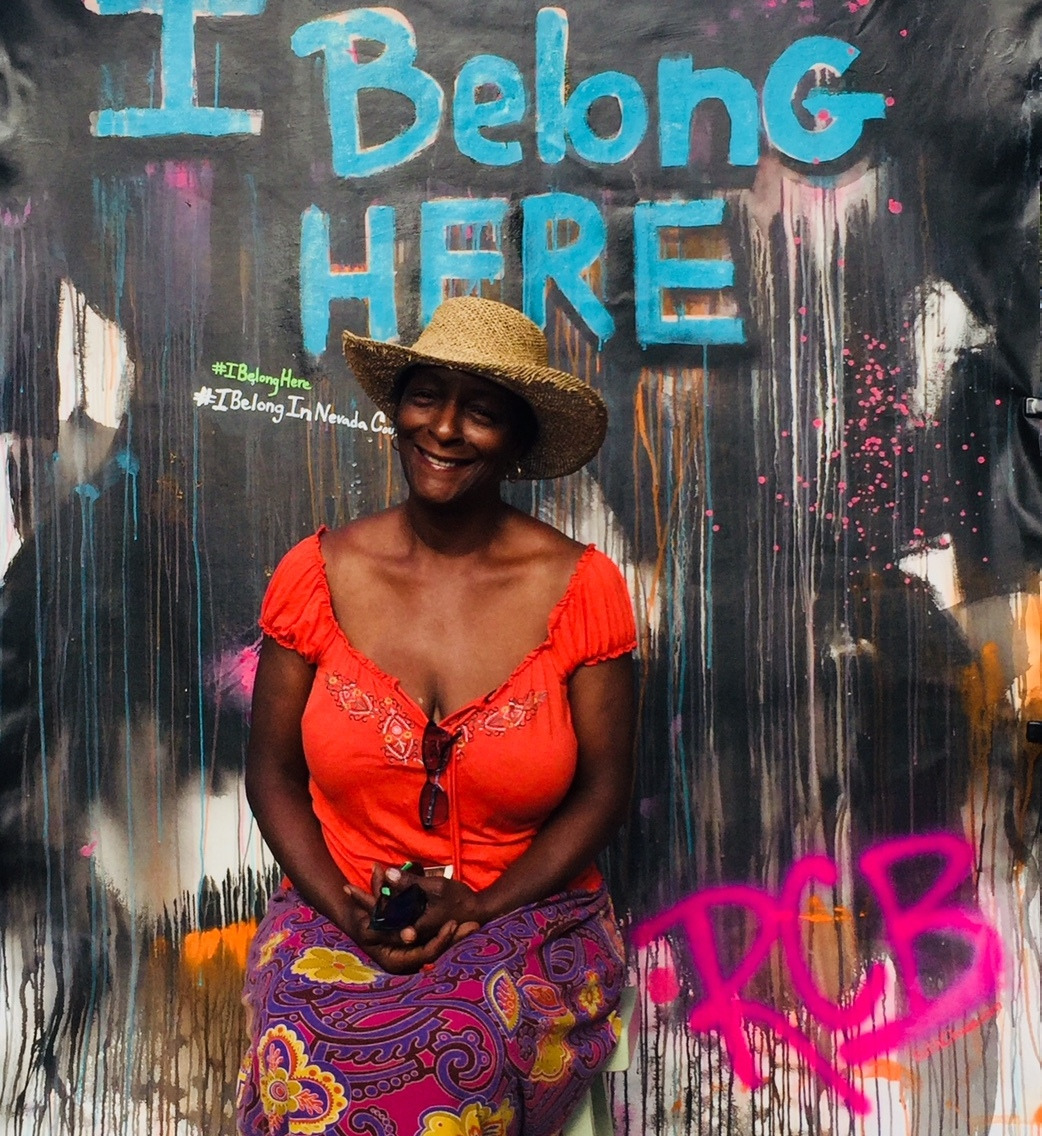 From the I Belong Here Pop Up of Community Member