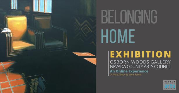 BELONGING HOME Exhibition header