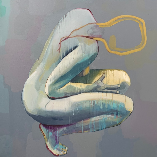 Holding by Ruth Chase 48x48 2020
